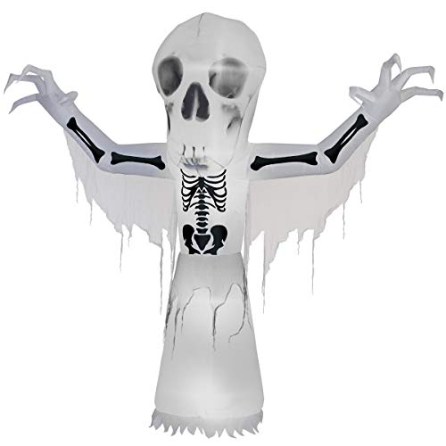 10 ft. Thunder Bare Bones Halloween Decoration -
