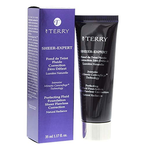 BY TERRY Sheer Expert Fluid Foundation No. 12 Warm Copper, 35 ml (Powder Copper Foundation)