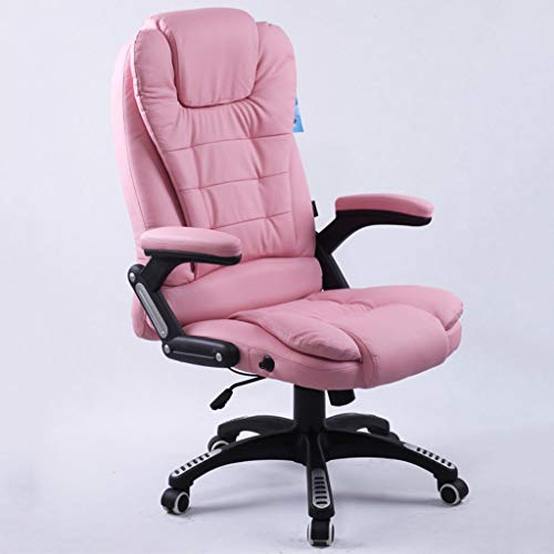 Chairs Sofas Home Real Cowhide seat Study Office Chair Bedroom Living Room Lounge Chair Student Dormitory Lift Rotary seat Staff Meeting Chair Chairs (100% Cowhide)