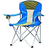 WAOBE Folding Chair Blue Fishing Outdoor Portable Outdoor Recreation Back Art Sketch Comfortable Lounge Chair