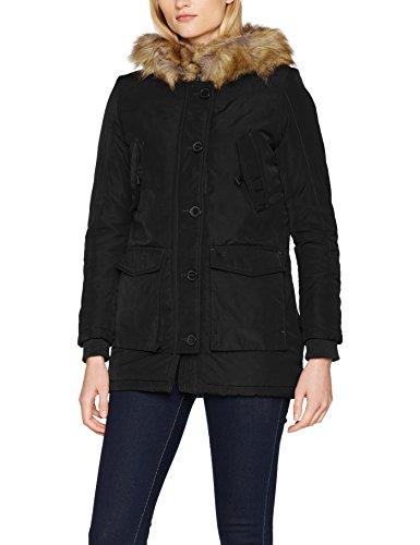 LTB Zoheke Coat, Chaqueta para Mujer Negro (Black Wash 200)