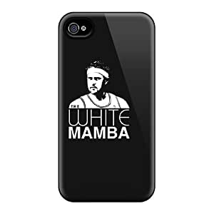 Slim Fit Protector Shock Absorbent Bumper White Mamba Cases For Iphone 6