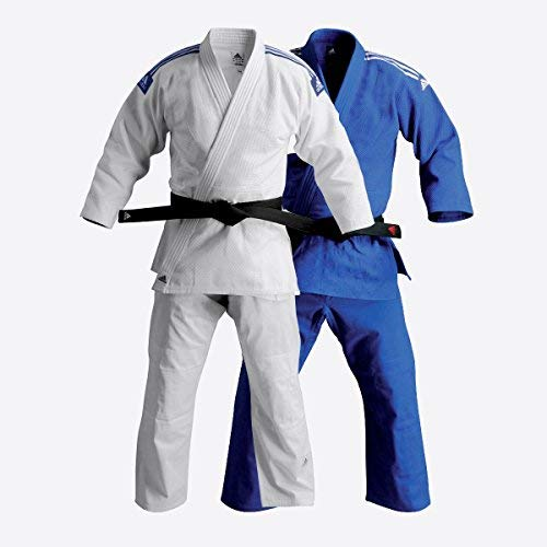 adidas Jiu-Jitsu Training Gi Uniform - 2 Colors! (Blue, 7/210cm) by adidas