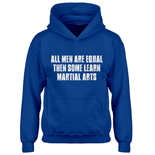 Indica Plateau Hoodie All Men Are Created Equal Medium Royal Blue Kids - Rb 3387