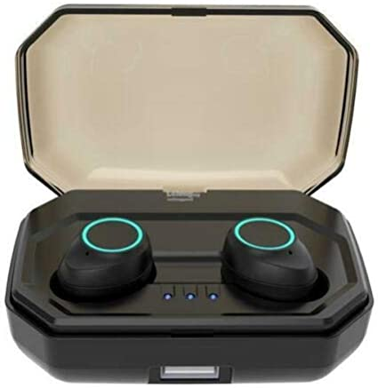 TWS RB X9 - Auriculares deportivos Bluetooth 5.0 inalámbricos con Bluetooth, resistentes al agua
