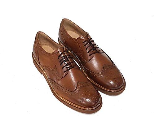FRAU - Zapatos de cordones para hombre cuero