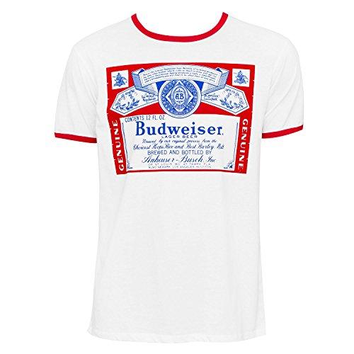 budweiser-ringer-tee-shirt