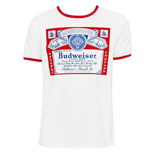 Budweiser Ringer Tee Shirt XX-Large ()