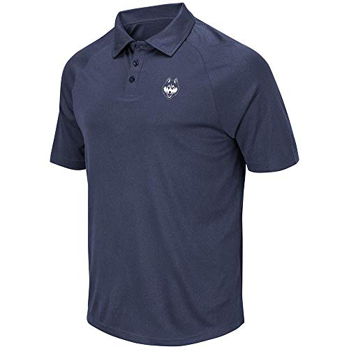 Mens UConn Connecticut Huskies Wellington Polo Shirt for sale  Delivered anywhere in USA