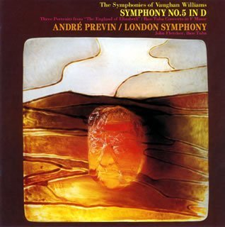 VAUGHAN WILLIAMS: SYMPHONY NO.5 & BASS,TUBA CONCERTO by Fletcher/Previn/LSO - Vaughan-Williams: Symphony No. 5, Tuba Cto, etc. (Japan) (2007-01-01?