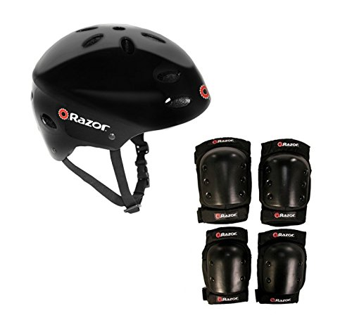 Razor V17 Child Skateboard/Scooter Sport Helmet with Pro ...