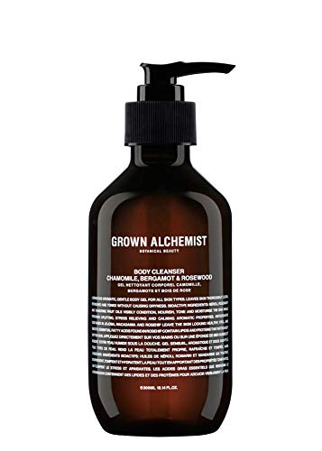 Grown Alchemist Body Cleanser - Chamomile, Bergamot & Rosewood - Moisturizing Gel Body Wash (300ml / 10.1oz)