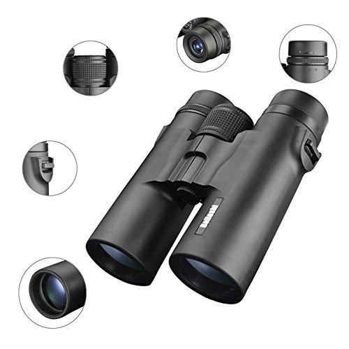 Beileshi 10x42 Roof Prism Binoculars Telescope, HD Professio