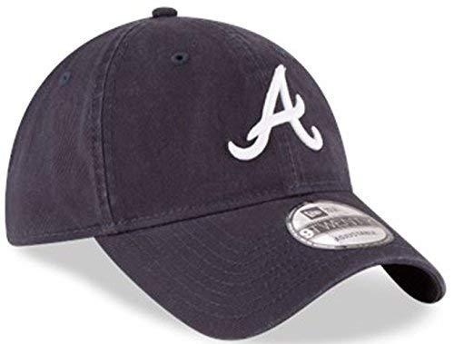 Authentic Atlanta Braves Core Classic 9TWENTY Adjustable Hat - Navy