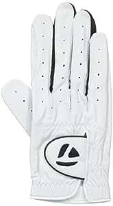 2014 TaylorMade Targa White/Black Golf Glove, Small, Left Hand
