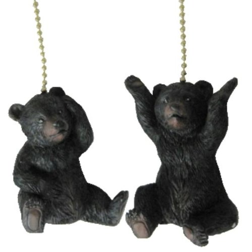 Set of Two Bear Ceiling Fan Pulls on Chain Review