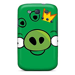 [VVI250kHkU] - New Angry Birds Pig Protective Galaxy S3 Classic Hardshell Case