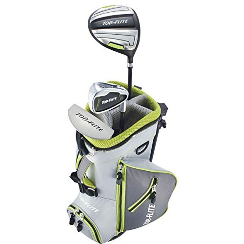 New 2019 Top-Flite Junior Boys Golf Complete Set for Ages 5 & Younger - Height 45'' and Under (Right) ()