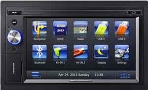 """Blaupunkt Chicago 600 - Radio con navegador GPS (pantalla táctil TFT de 15,7 cm/6,2"""", lectores de tarjeta, certificado por DivX, USB 2.0) [Importado de Alemania]"""