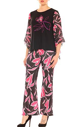 Scuro Koll Allegra Pantalón De Para Mujer Rosa Traje 7x0xwRv