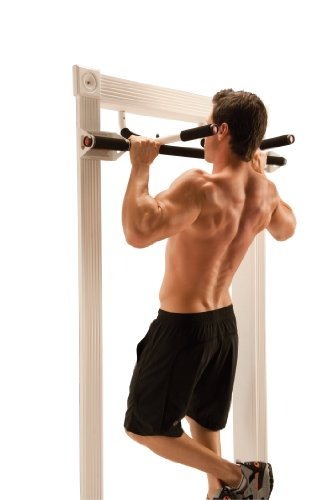 Perfect Fitness Multi Gym Doorway Pull Up Bar and Portable Gym System, Original