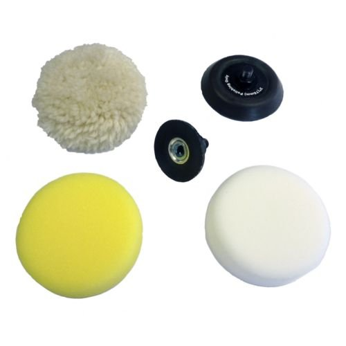 Pad Milwaukee (Pads Kit for M12 Polisher Milwaukee (2438, 5pcs.))