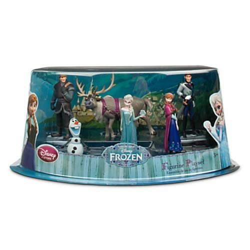 Disney Store Frozen 6 Figurine Play Set - Cake Toppers Decor