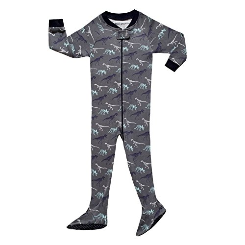 Zipper Front Mm (Baby Boys Footed