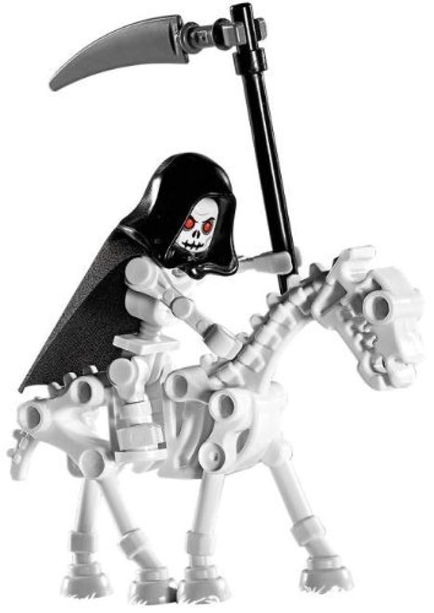 [해외] LEGO SKELETON REAPER WITH SKELETON HORSE (LOOSE) CASTLE MINI FIGURE
