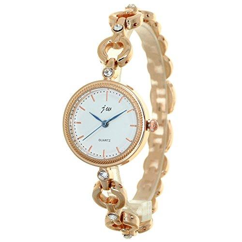 Women Watches Top Brand Luxury Stainless Steel Bracelet Style Jewelry Ladies Quartz Watch Dress Wristwatches Lady Girls Crystal Rhinestone Clock by TimeMax