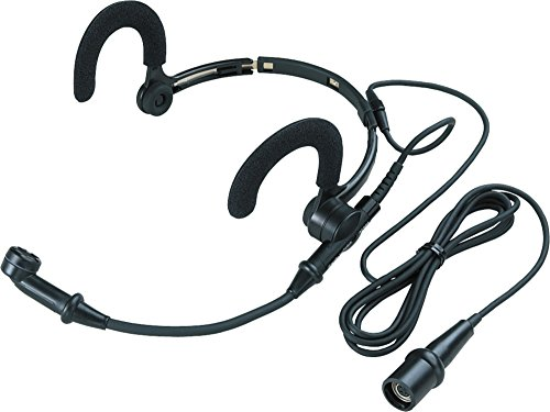 Audio-Technica AT889cW Noise Cancelling Condenser Headworn Microphone -