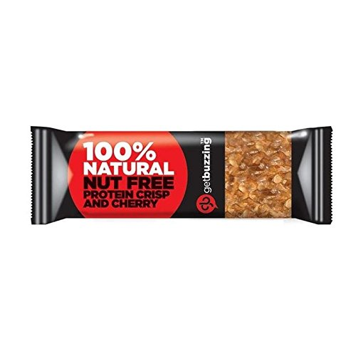 - Getbuzzing Nut Free Cherry Protein Bar 62g - Pack of 6