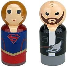 Bif Bang Pow! DC Comics TV Supergirl Pin Mate Wooden Figure (Set 2)