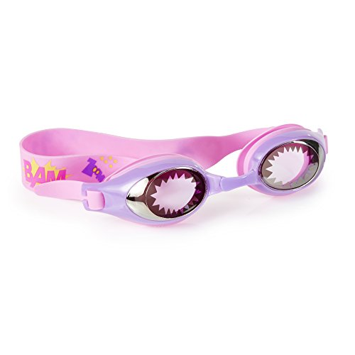 [Swimming Goggles For Girls - Super Girl Kids Swim Goggles By Bling2o (Wonder Girl (Pink))] (Red Baron Baby Costume)