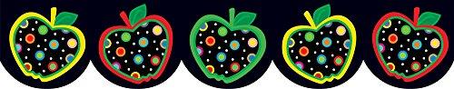Creative Teaching Press Dots on Black Apples Border (6515) ()