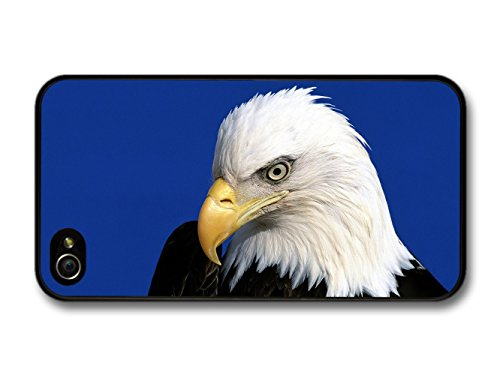 American Eagle On Blue Background coque pour iPhone 4 4S