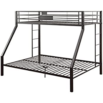 ACME Limbra Twin XL/Queen Bunk Bed - 38000 - Sandy Black