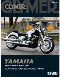 Amazon.com: CLYMER YAMAHA ROAD STAR 1999-2007 M282-2