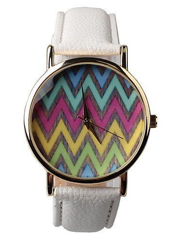 PEISHI J Los fabricantes vender exquisito reloj de mujer, color blanco, white-for lady: Amazon.es: Relojes