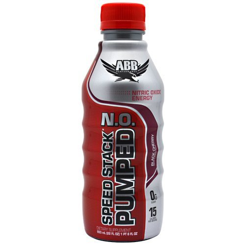 ABB Performance SPEED STACK PUMPED N.O. - Black Cherry 12 bottles by ABB