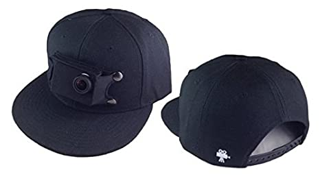67f3814a3db Amazon.com   Bells and Bain Gosolo Hat Compatible with Gopro (Black ...