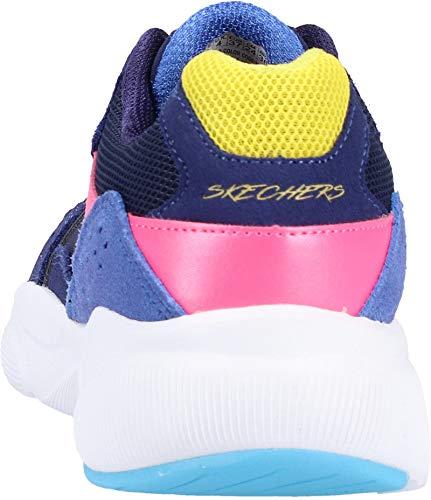 no Skechers Meridian Donna Worries Sneaker Blu fxPx7S5