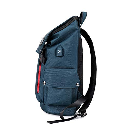 School Up Backpack Charging Laptop Anti Fit 6 Notebook Waterproof Blue Usb 15 With Inch Travelling Port Theft Bookbag Business And To College 7qYxZdwtZ