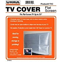 UHaul Flat Screen TV Cover ~ Fits Up To 55 Televisions