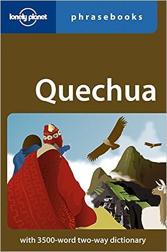Resultado de imagen para quechua phrasebook travel