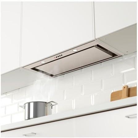Ikea underverk Campana integrado; de acero inoxidable; (76 cm); B ...