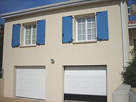 Clausa Puerta de Garaje motorisable, Acero, Blanco, 10 x 300 x 215 cm: Amazon.es: Hogar