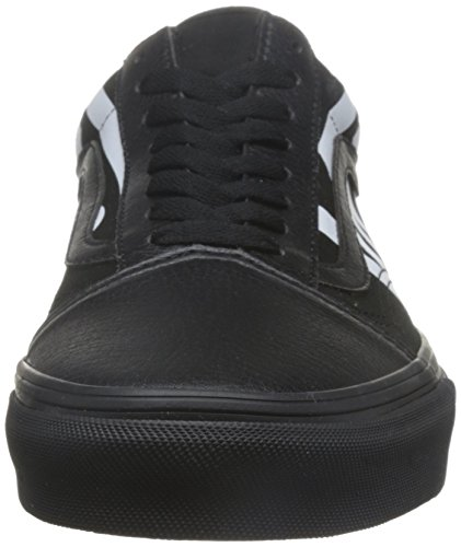Skool Baskets Femme Old Vans Basses Noir SqwPP5