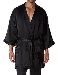 Silk Charmeuse Kimono Robe (2604)