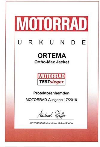 Ortho Max Jacket Gr S Unisex Protektorenjacke Für Den Optimalen Rundumschutz Schützt Die Wirbelsäule Schultern Und Ellenbogen Motocross Enduro Mtb Trial Mehr Auto